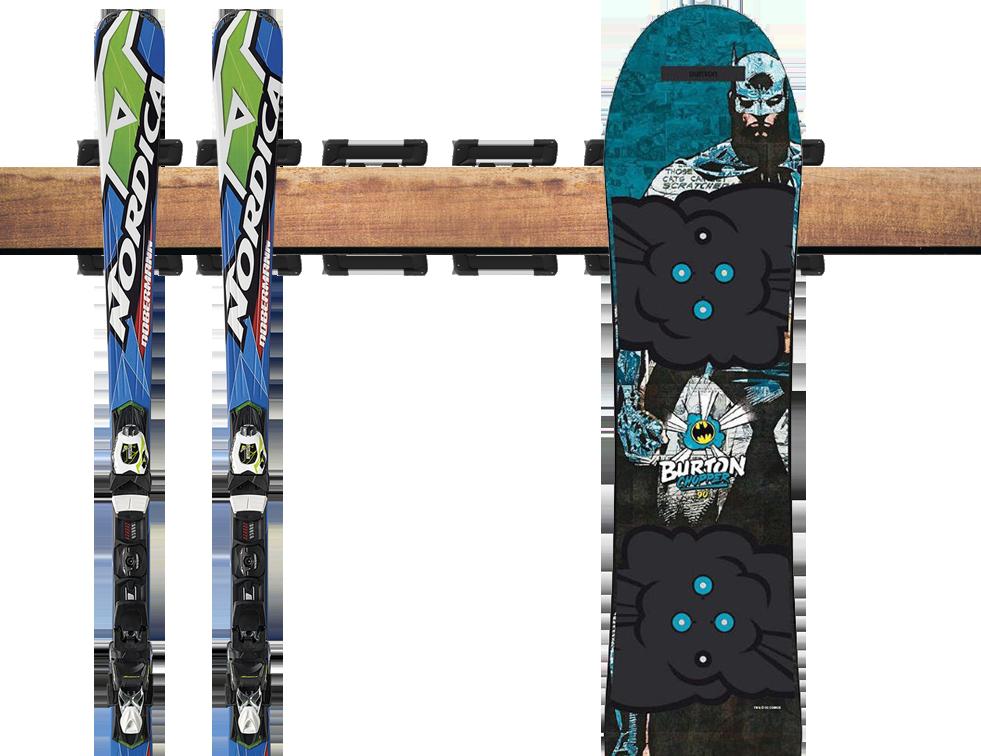 сезонное хранениелыж и сноубордов